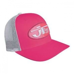 TRUCKER HAT WITH MESH pink-white
